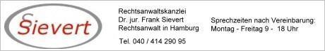 Rechtsanwaltskanzlei Dr.jur.Frank Sievert